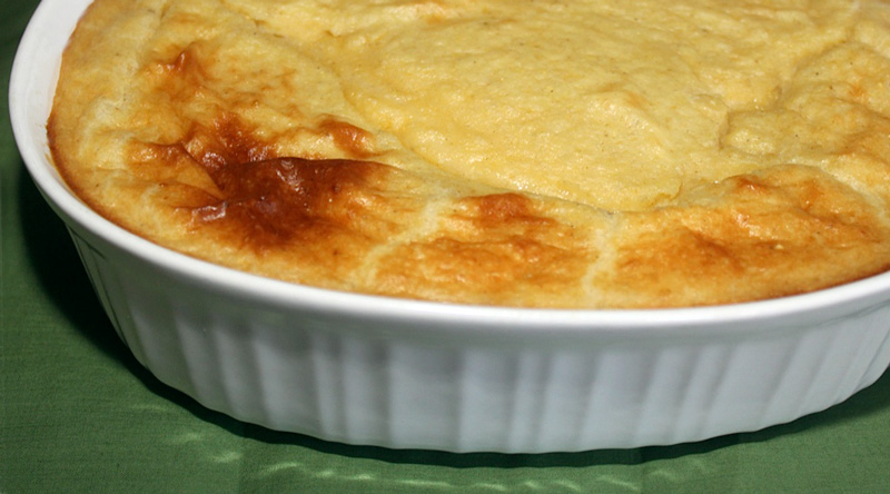 Old-fashioned spoon bread