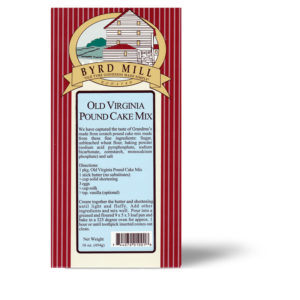 Old Virginia Pound Cake Mix
