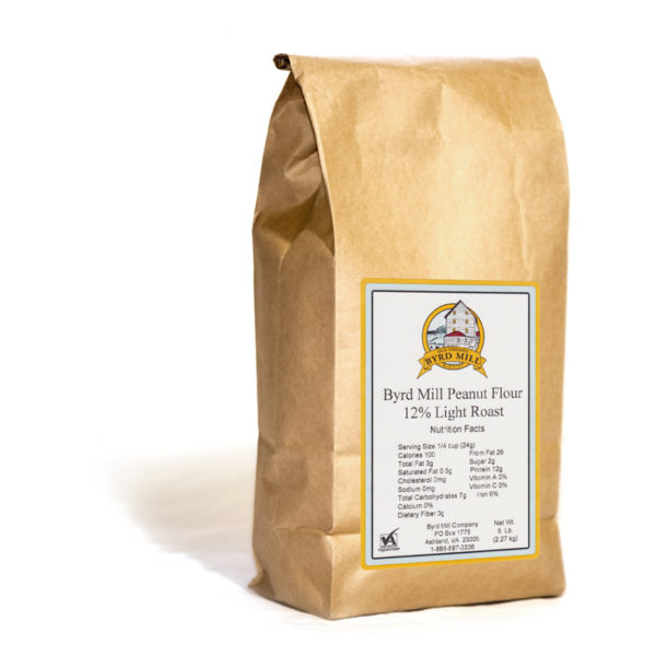 5 lb Peanut Flour Light 12%