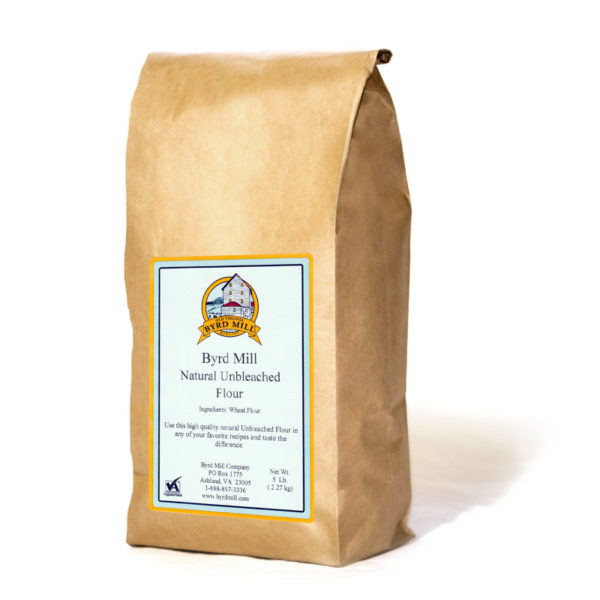 5 lb. Natural Unbleached Flour